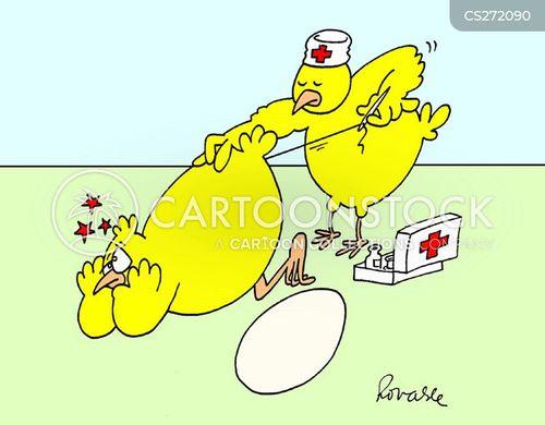 large egg cartoon