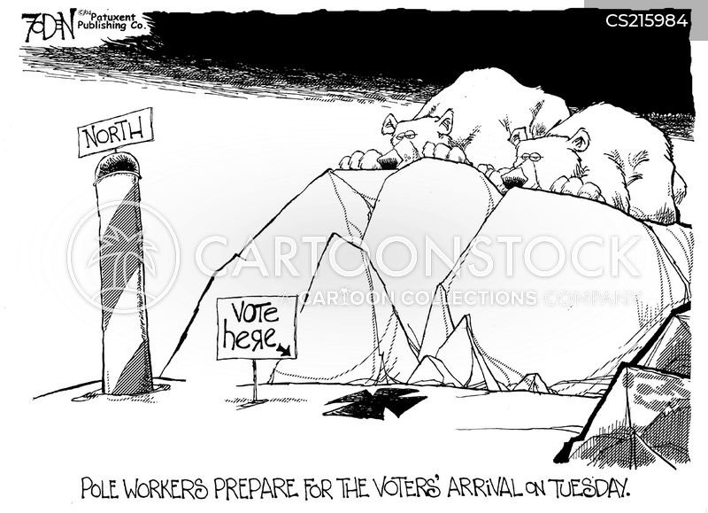 electoral cartoon