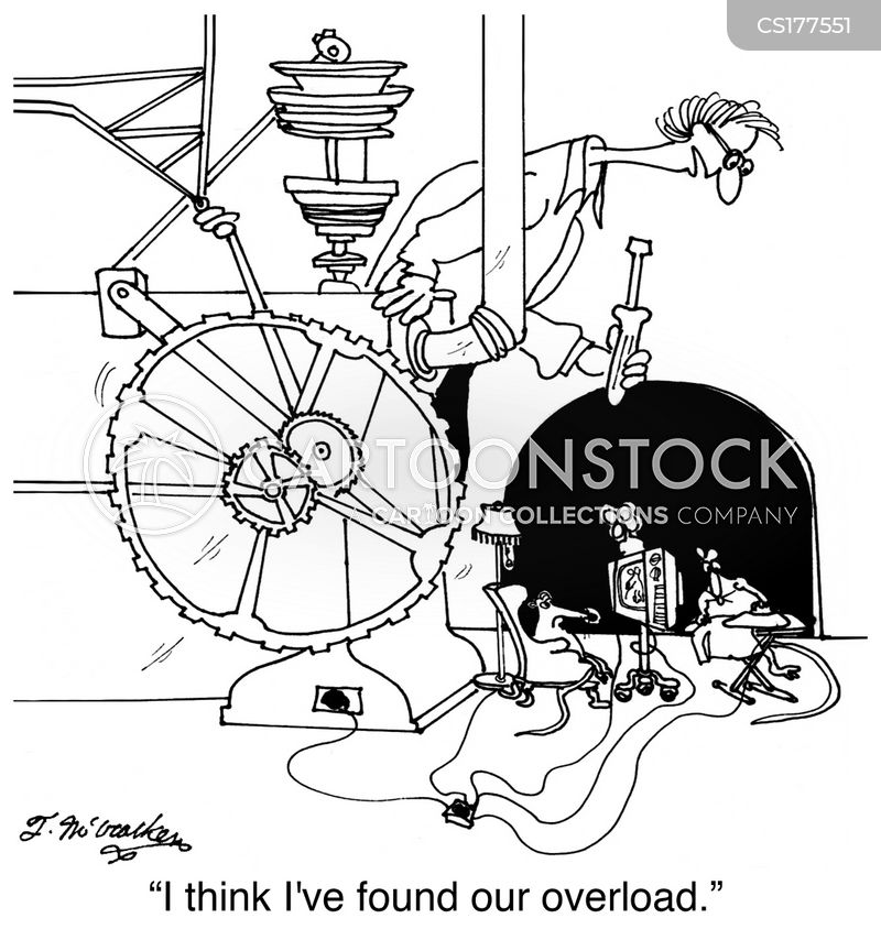electricians cartoon