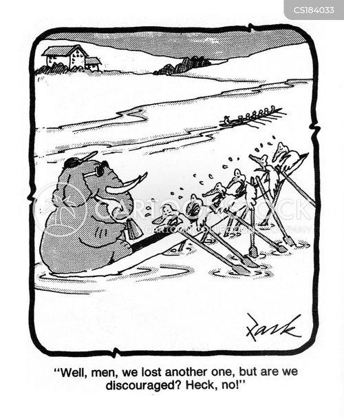 boat races cartoon