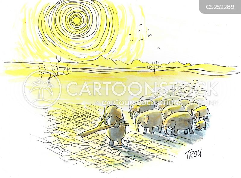divining rods cartoon