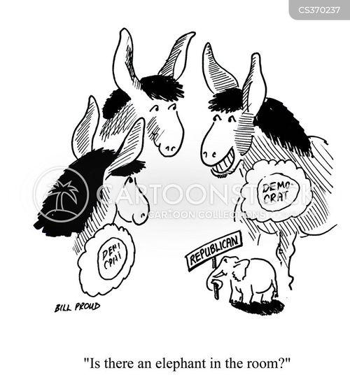 white elephant cartoon