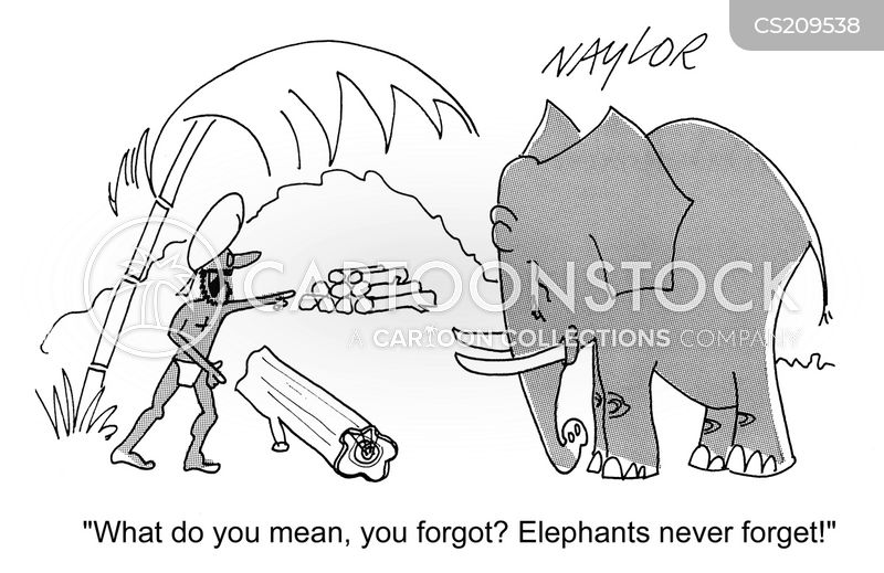indian elephant cartoon