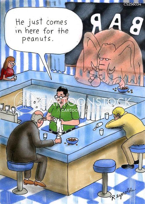 drinking establishment cartoon