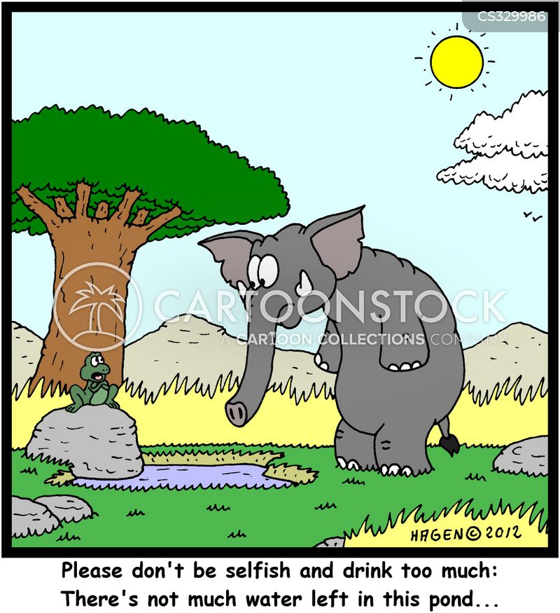 dry weather cartoon