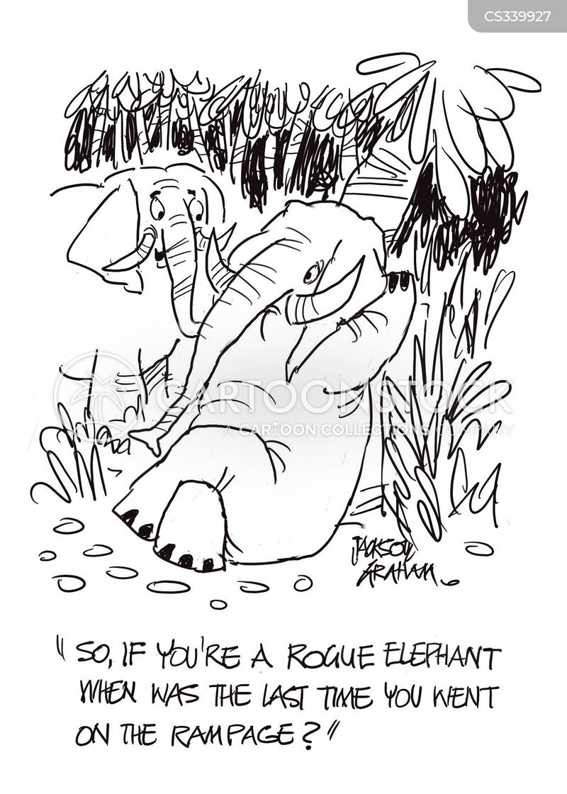Rogue Elephant cartoons, Rogue Elephant cartoon, funny, Rogue Elephant picture, Rogue Elephant pictures, Rogue Elephant image, Rogue Elephant images, Rogue Elephant illustration, Rogue Elephant illustrations