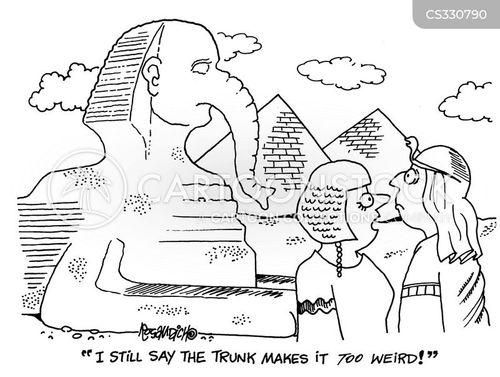 sphynx cartoon