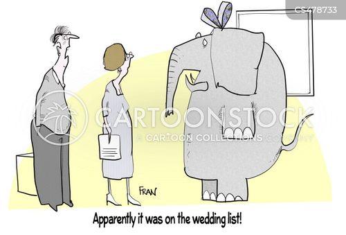 wedding gifts cartoon