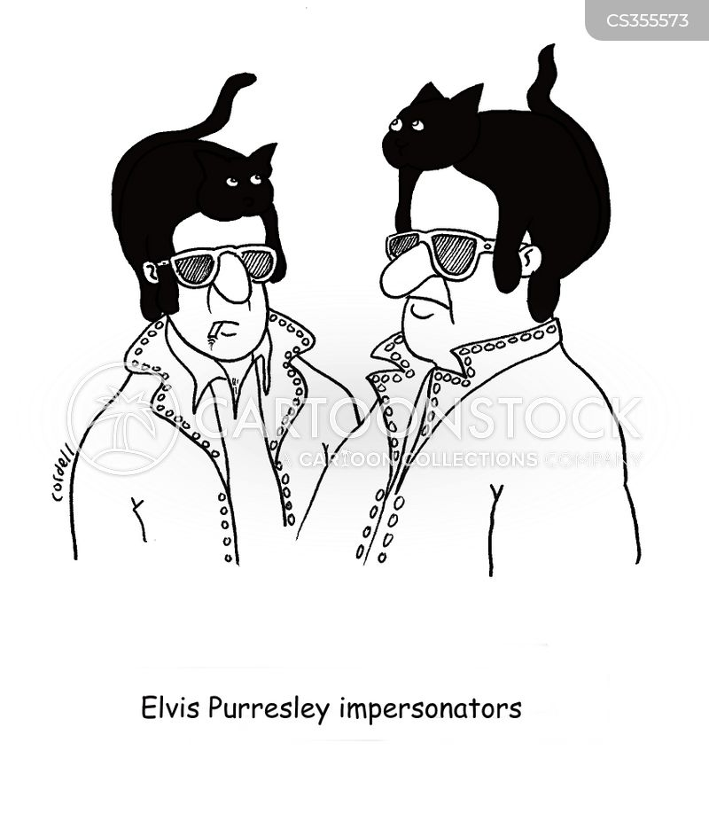 elvis presley cartoon