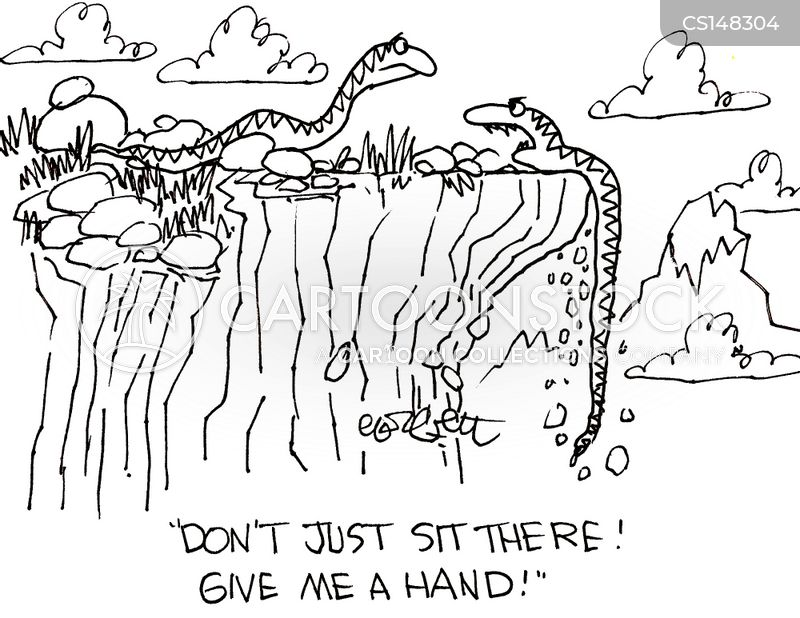 helping hands cartoon