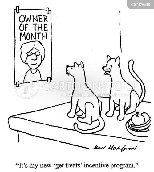 incentive program cartoon