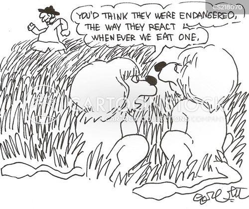 maneater cartoon
