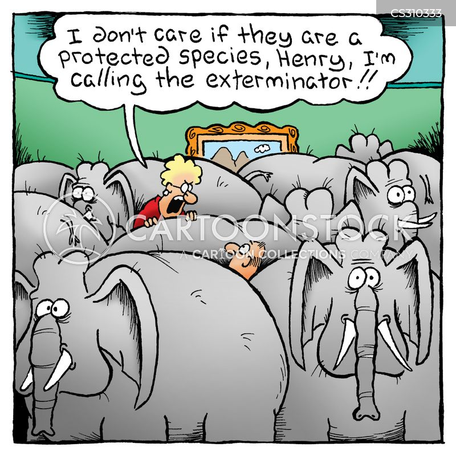 vermin control cartoon