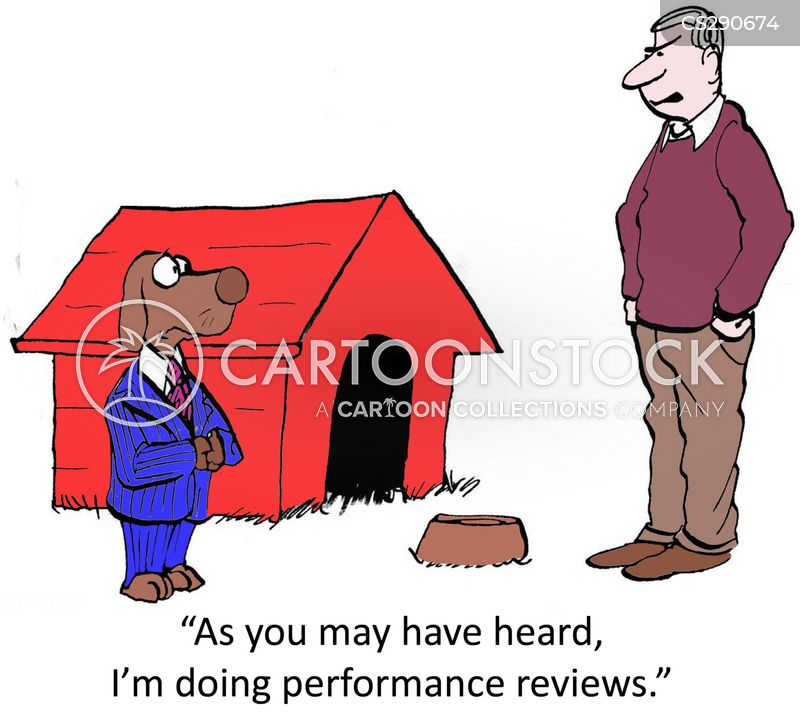 annual reviews cartoon