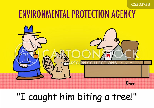 environmental protection agencies cartoon