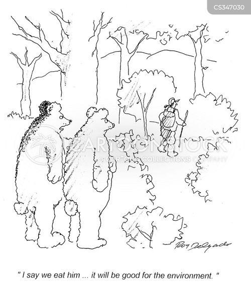 environmental consciences cartoon
