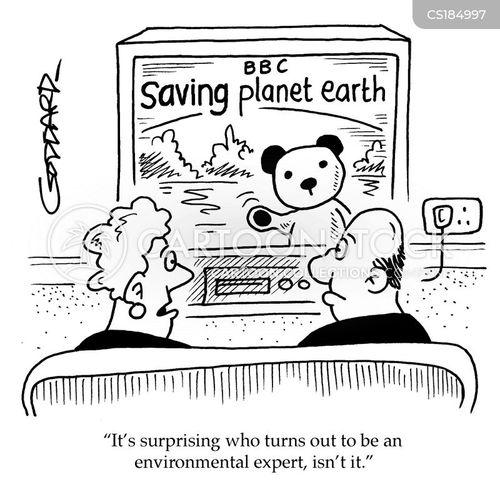 rising temperatures cartoon