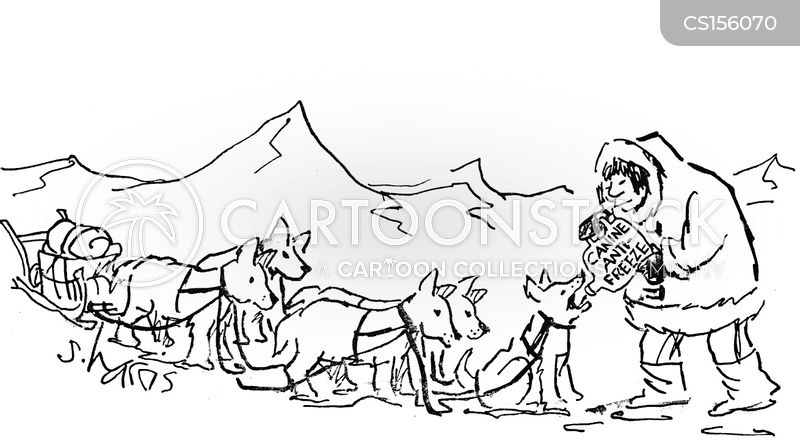 Dog Sled cartoons, Dog Sled cartoon, funny, Dog Sled picture, Dog Sled pictures, Dog Sled image, Dog Sled images, Dog Sled illustration, Dog Sled illustrations