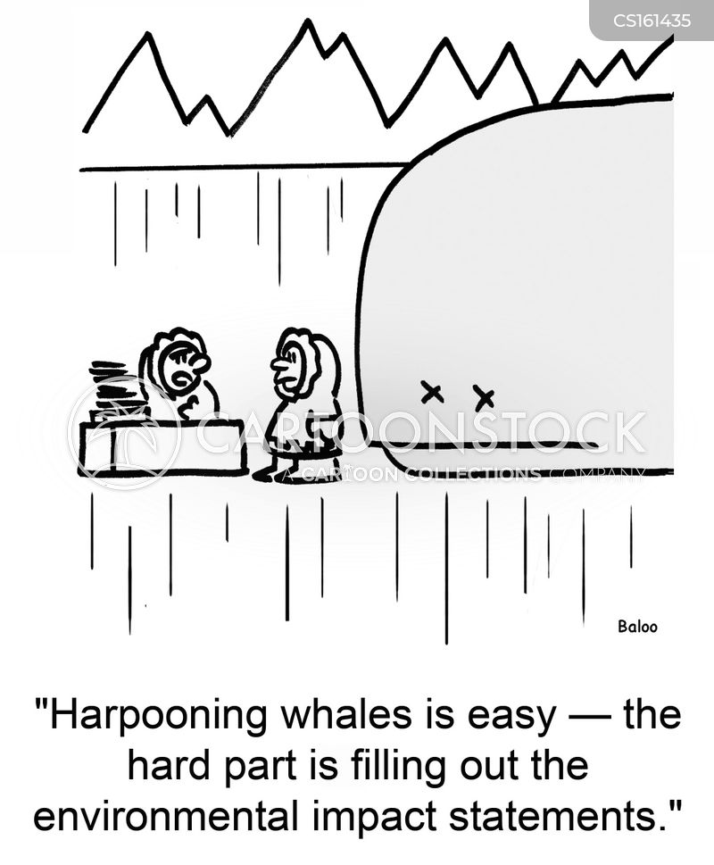 harpoons cartoon