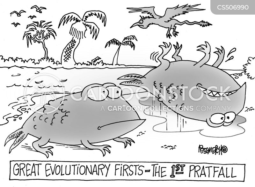 pratfall cartoon