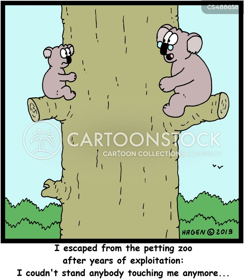 petting zoo cartoon