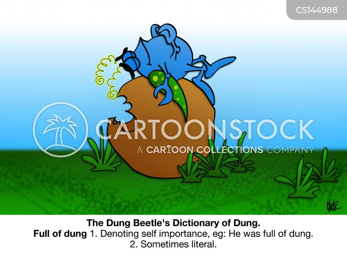 dung beetle cartoon