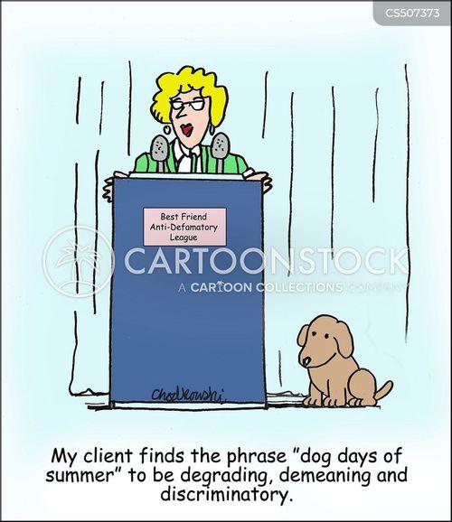 demeaning cartoon