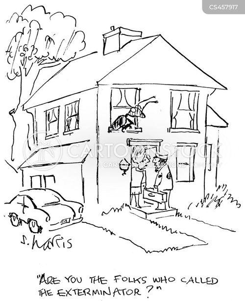 roach cartoons and comics