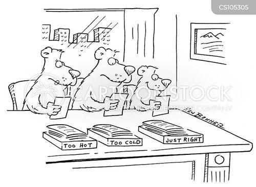 porridge cartoon