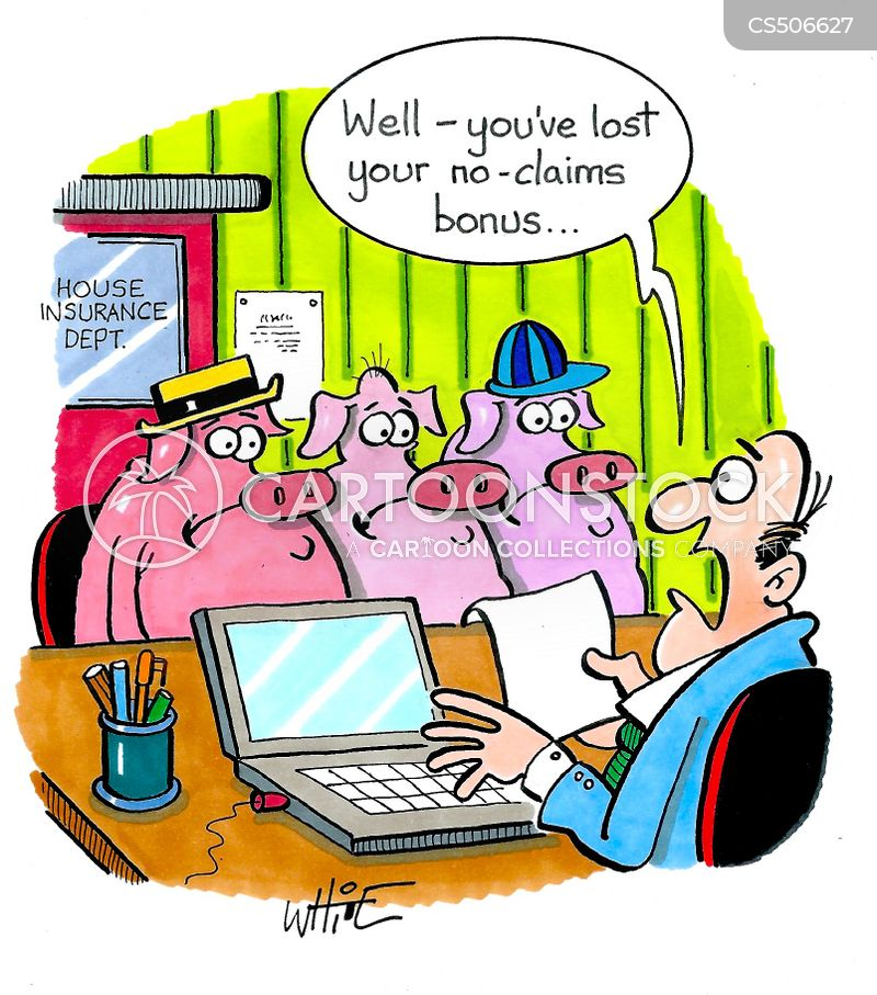 no claims bonuses cartoon