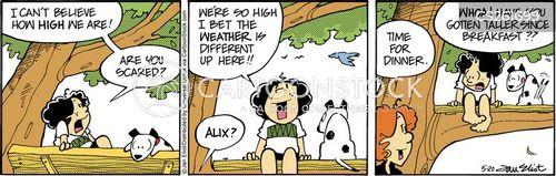 treehouses cartoon