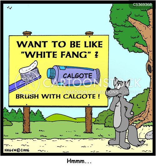 white fang cartoon