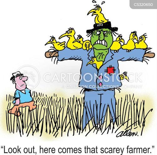 scare crow cartoon