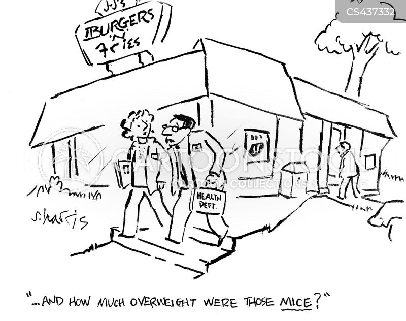 restaurant inspectors cartoon