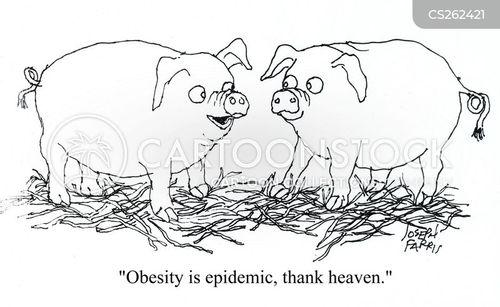 heaviness cartoon