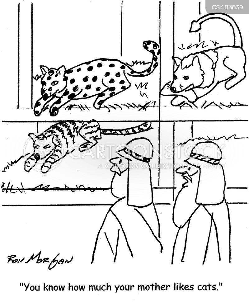 petting zoos cartoon