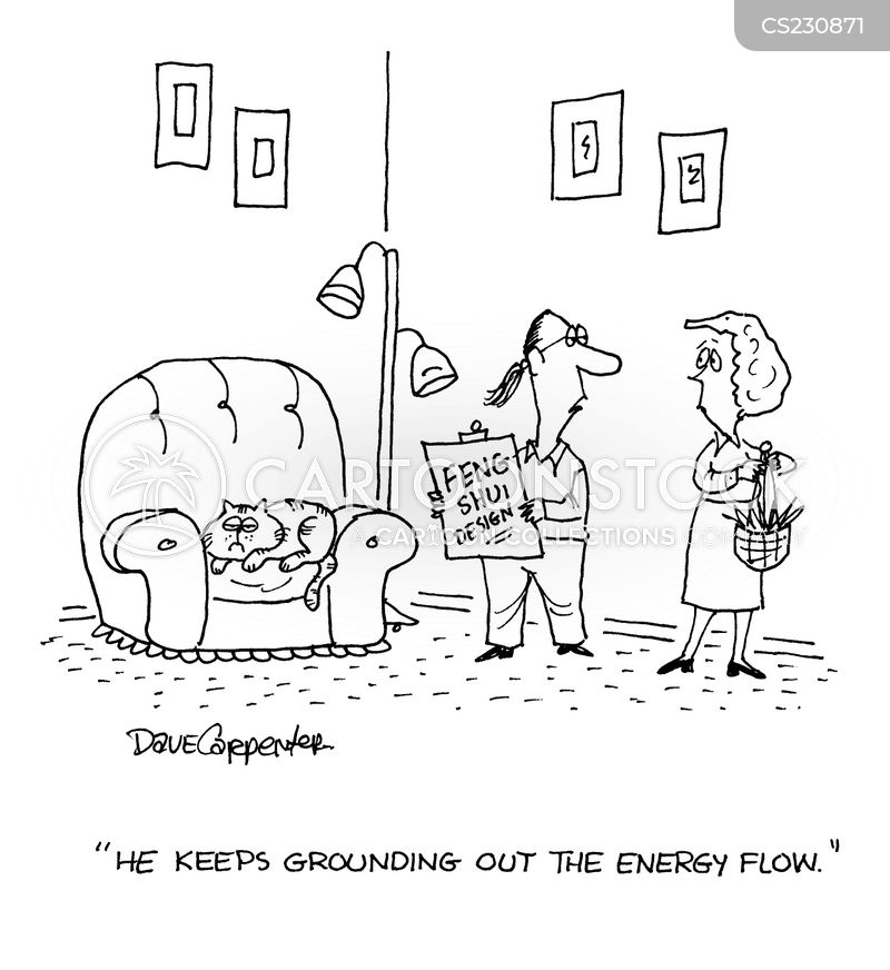 energy fields cartoon