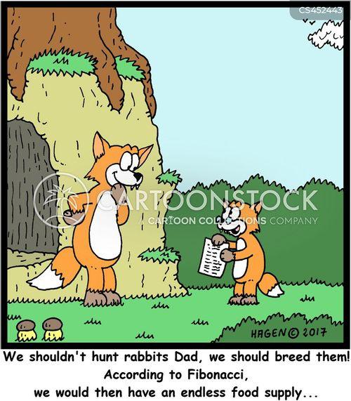 food supply cartoon