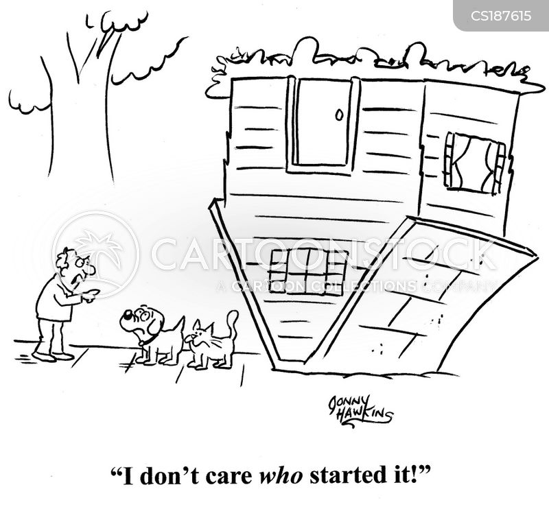 home repairs cartoon