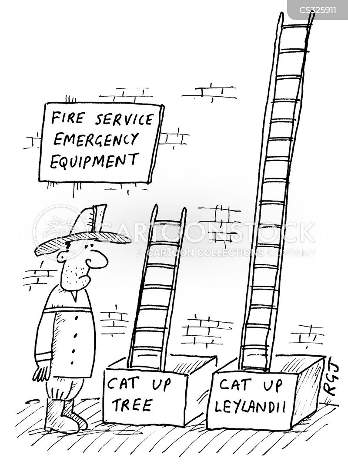 fire service cartoon