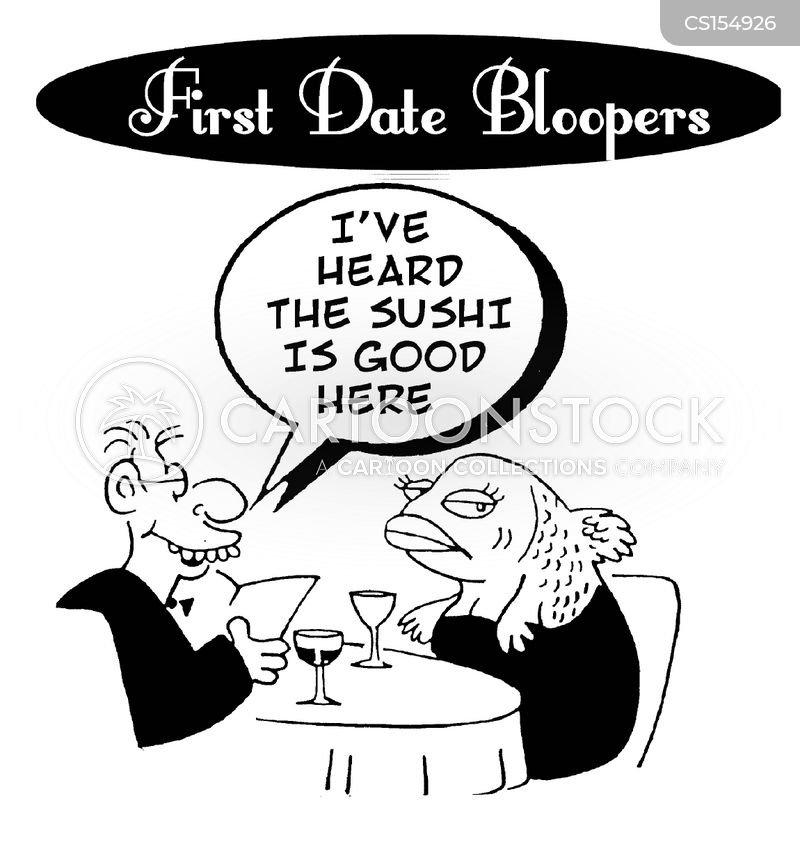 dating disasters cartoon