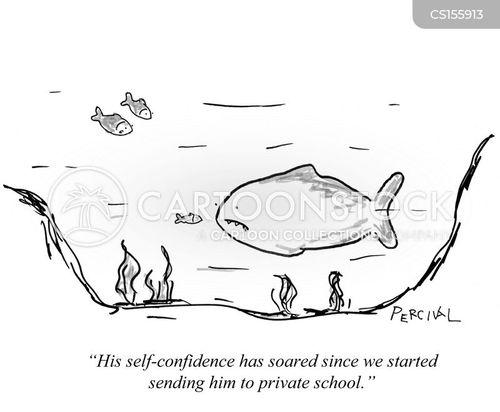 small fish cartoon