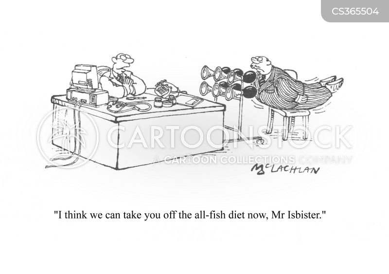 All fish cartoons and comics funny pictures from for All fish diet