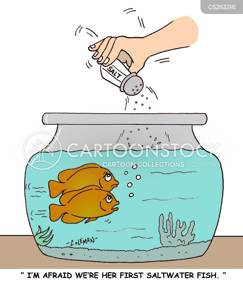 fish lover cartoon