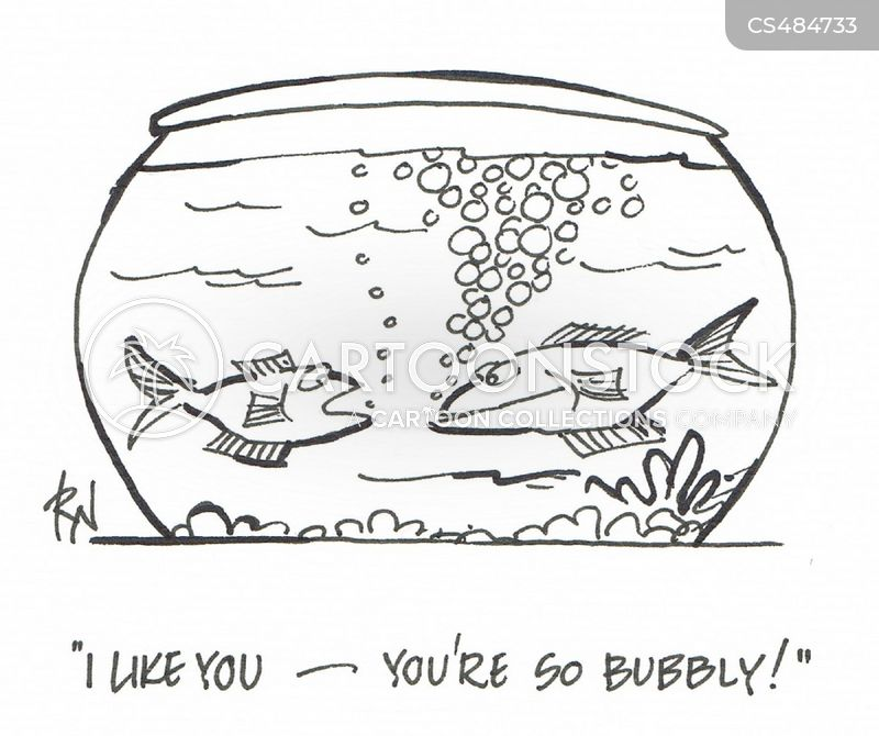 bubbly cartoon