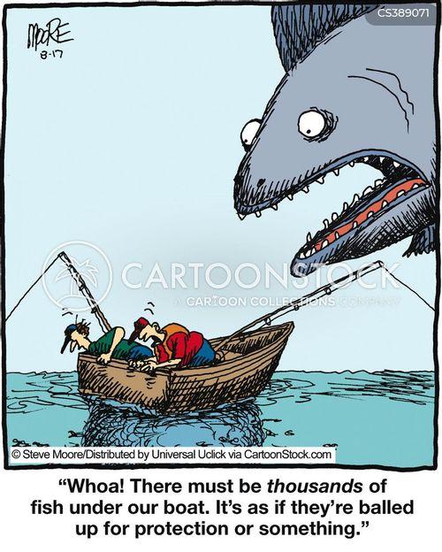giant fish cartoon