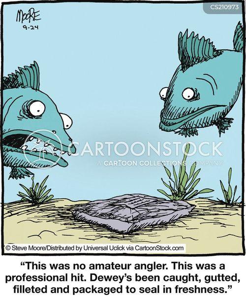 gutted cartoon