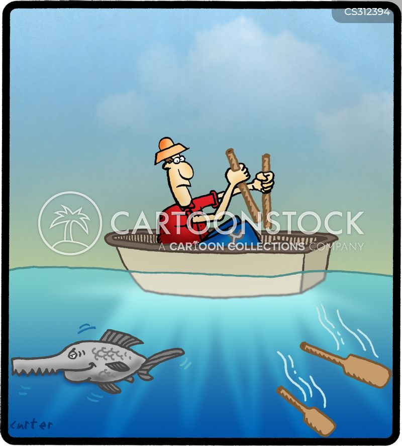 Sawfish Cartoons and Comics - funny pictures from CartoonStock
