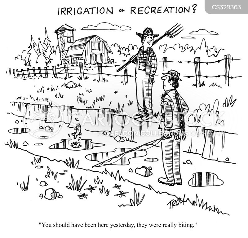 Irrigation Cartoons and Comics - funny pictures from CartoonStock