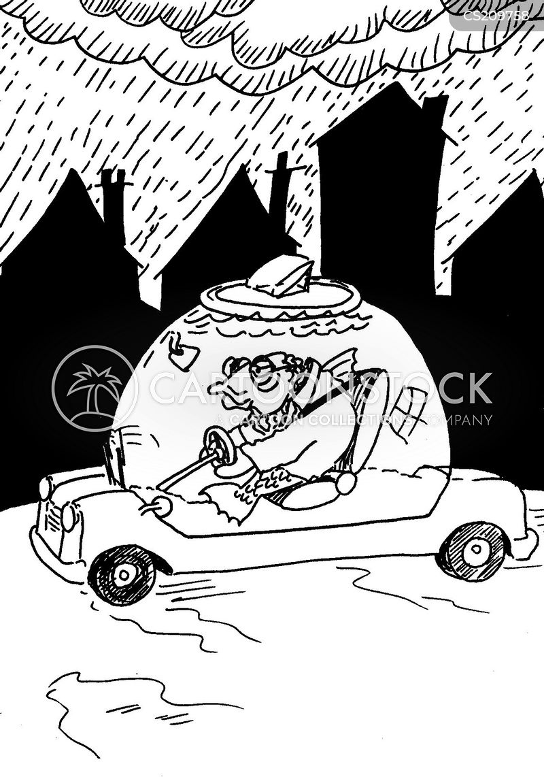 driers cartoon